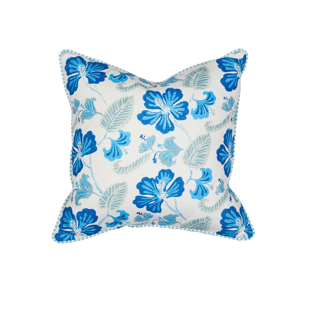 Anna Spiro Oahu Blue Grotto with JAB Anstoetz Switch Trim Cushion