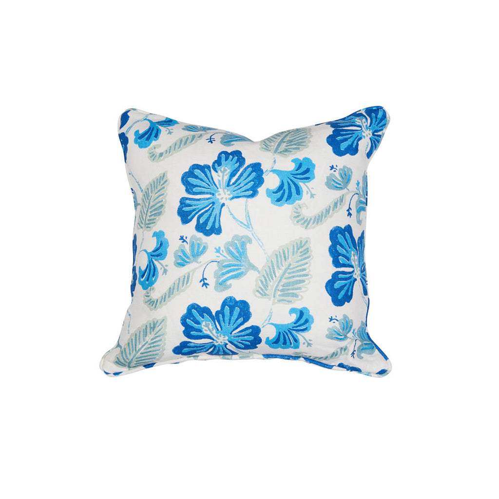 Anna Spiro Oahu Blue Grotto Cushion