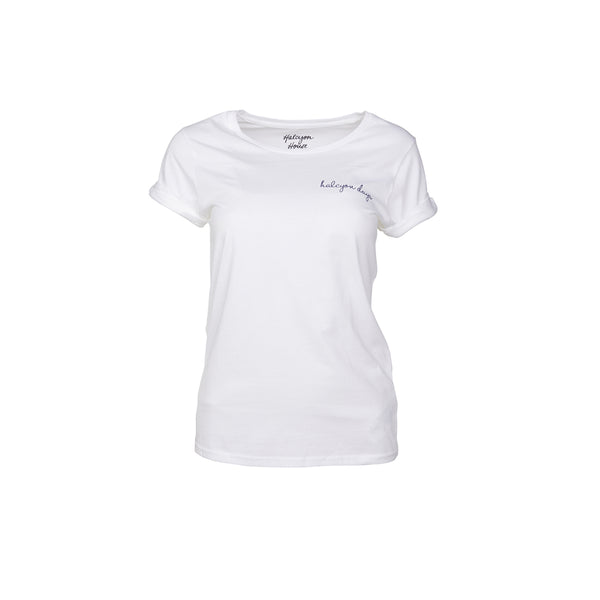 Halcyon House Women T-Shirt White