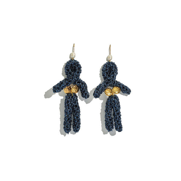 Eve Earrings Midnight