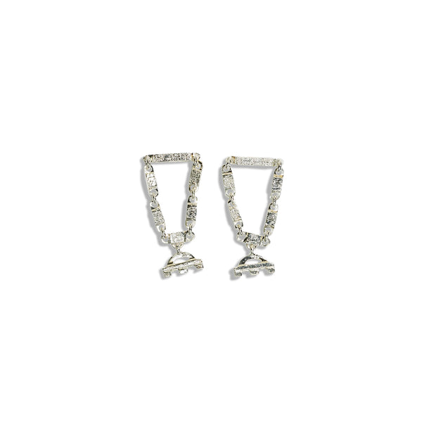 Silencio Earrings Sterling Silver