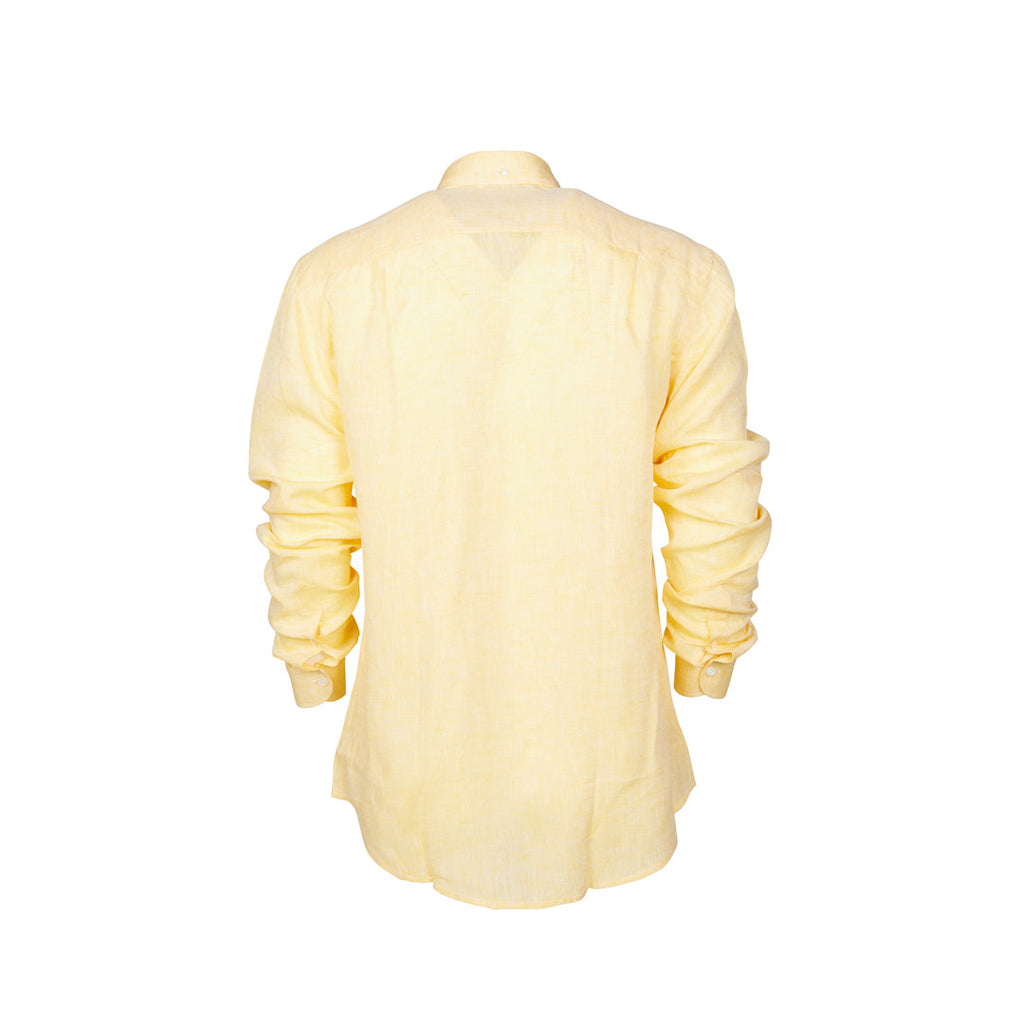 Linen Shirt Yellow