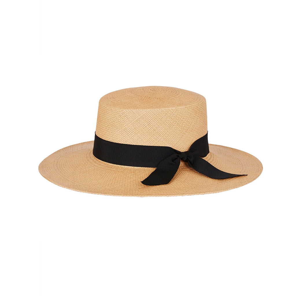 Elegance Is Boater Hat