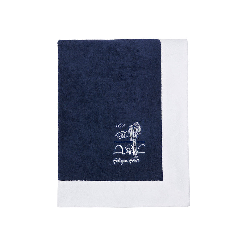 Halcyon House x Frette Beach Towel