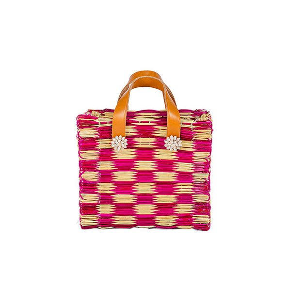Tom Tom Mini Tote Bag Magenta