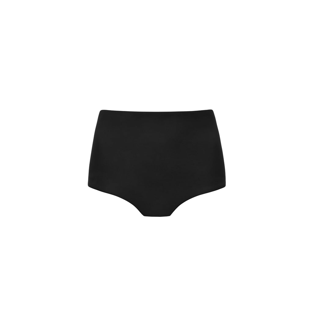 The High Waist Brief Black