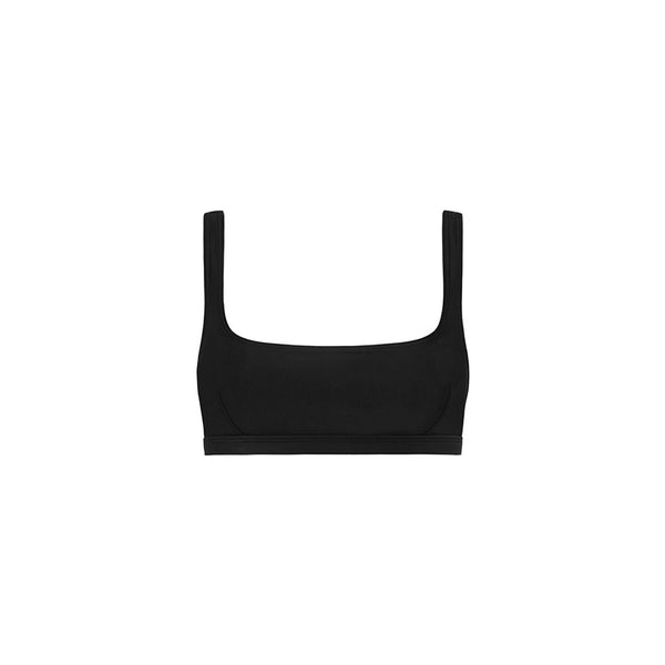 The Nineties Crop Top Black