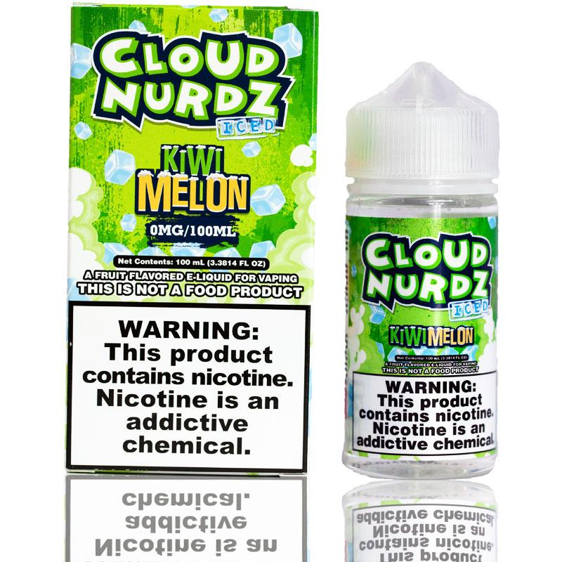 Cloud Nurdz Kiwi Melon Iced | $11.49 | Fast Shipping