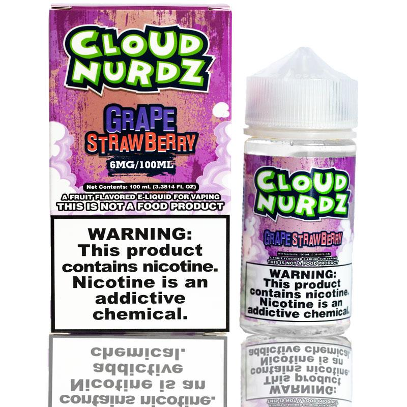 Cloud Nurdz Grape Strawberry | $11.49 | Fast Shipping