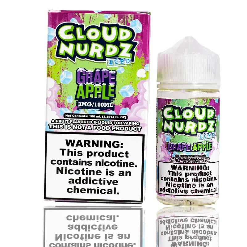 Cloud Nurdz Grape Apple Iced | $11.49 | Fast Shipping