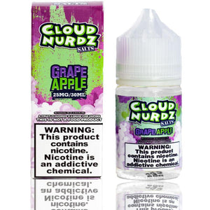 Cloud Nurdz Grape Apple Salt Nic | $10.95 | Fast Shipping