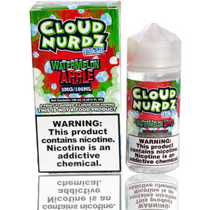 Cloud Nurdz Watermelon Apple Iced | $11.49 | Fast Shipping