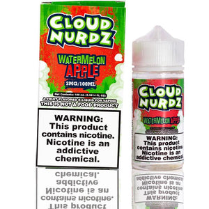 Cloud Nurdz Watermelon Apple | $11.49 | Fast Shipping