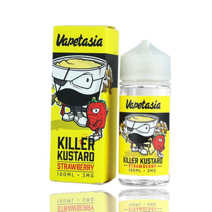 Killer kustard Strawberry by Vapetasia  |$10.95 | Fast Shipping