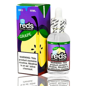 Reds Grape Iced eJuice by Reds Apple eLiquid | Free Shipping