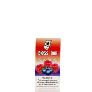 Boss Bar Razz Azul | $7.95 | Fast Shipping