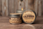 Iconic California Three Candle Set -  Soy Candle in Travel Tin