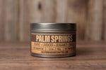Palm Springs - JASMINE + LAVENDER + BERGAMOT + VANILLA - Soy Candle in Travel Tin