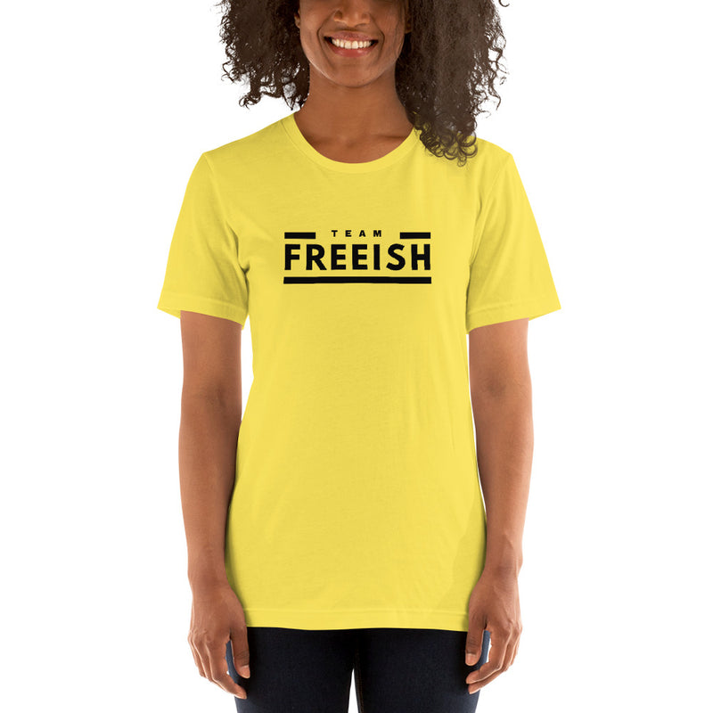 Team Freeish Tee  - Light