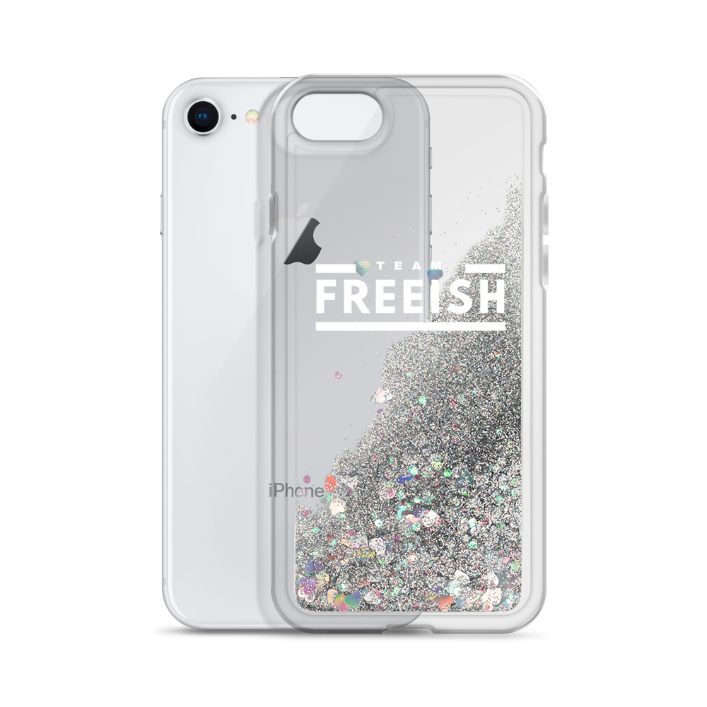 Team Freeish Auntie Glitter Phone Case