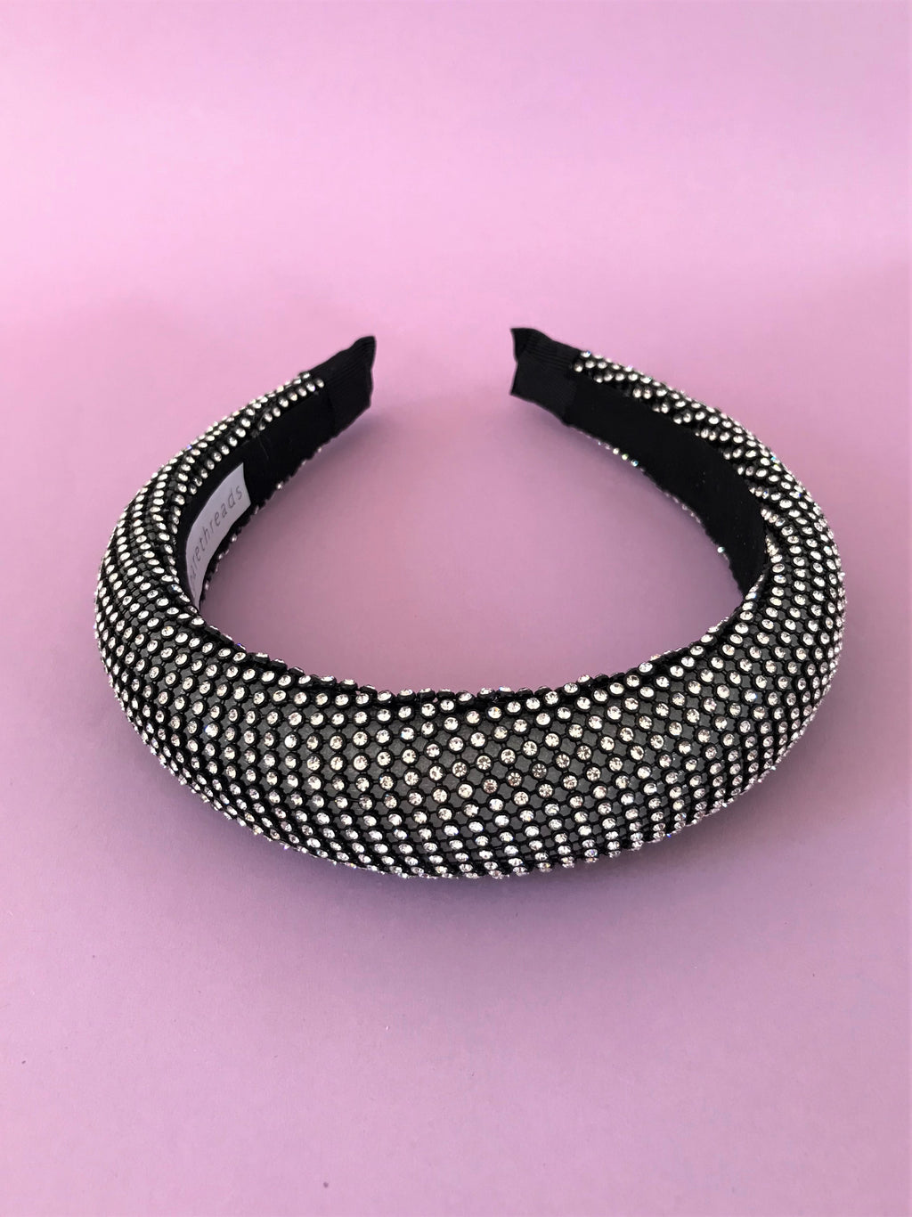 THE APHRODITE PADDED BAND - GUNMETAL