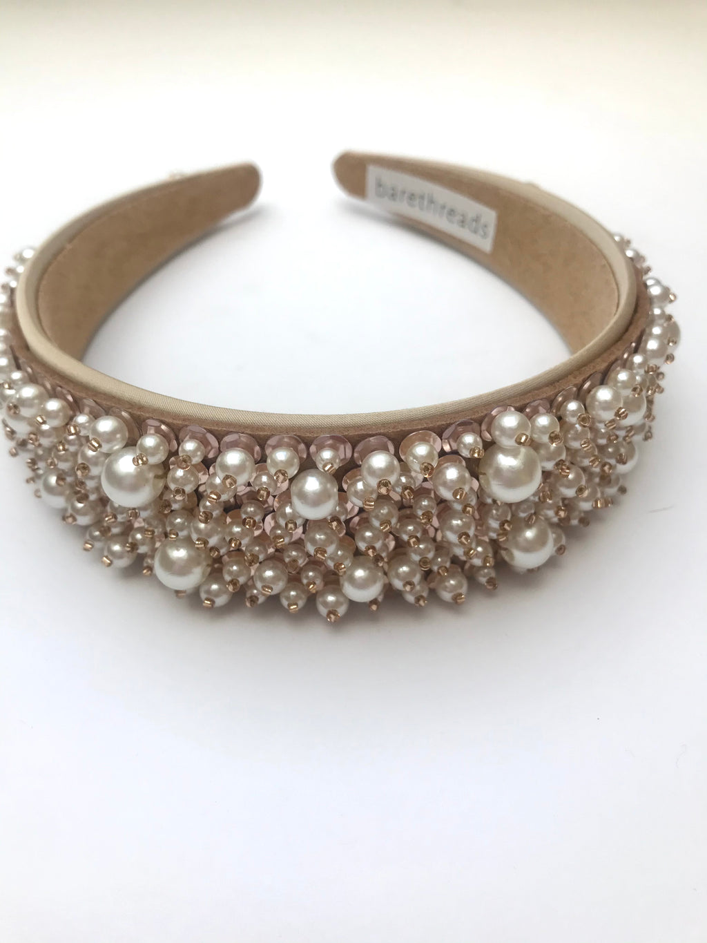 THE DIANA PEARL AND BEADED HEADBAND