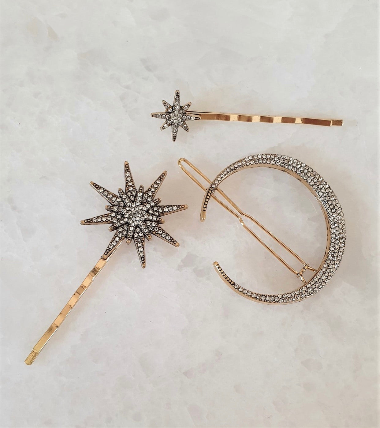 THE ASTRID HAIR CLIP SET