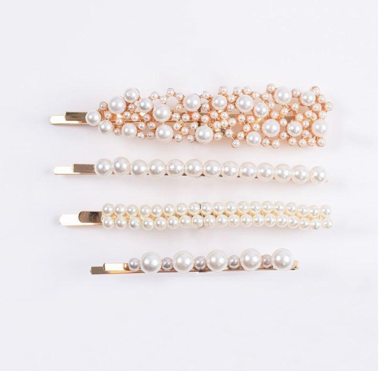 THE INDI PEARL CLIP SET