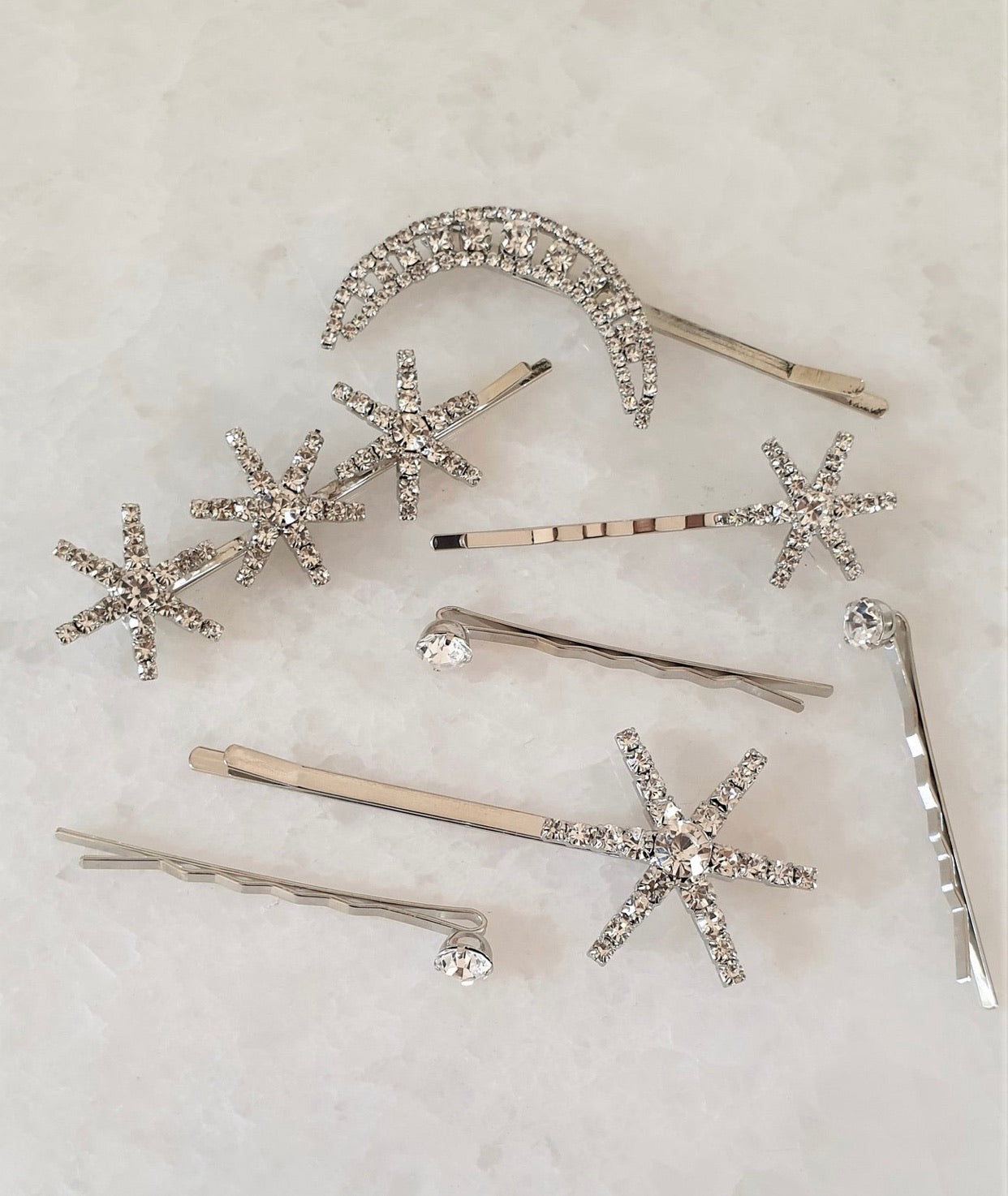 THE CELESTE HAIR CLIP SET