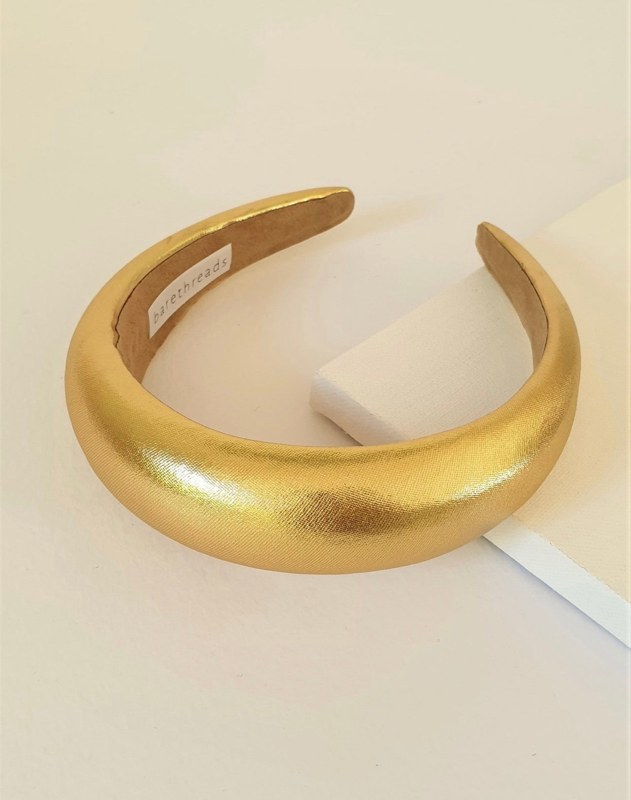 THE FRANCINE GOLD PADDED BAND