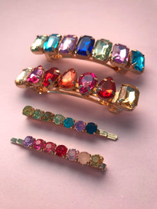 THE PAROS CRYSTAL CLIP SET