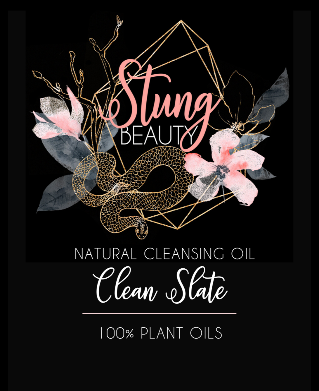 Clean Slate Cleansing Oil - StungBeauty.Co
