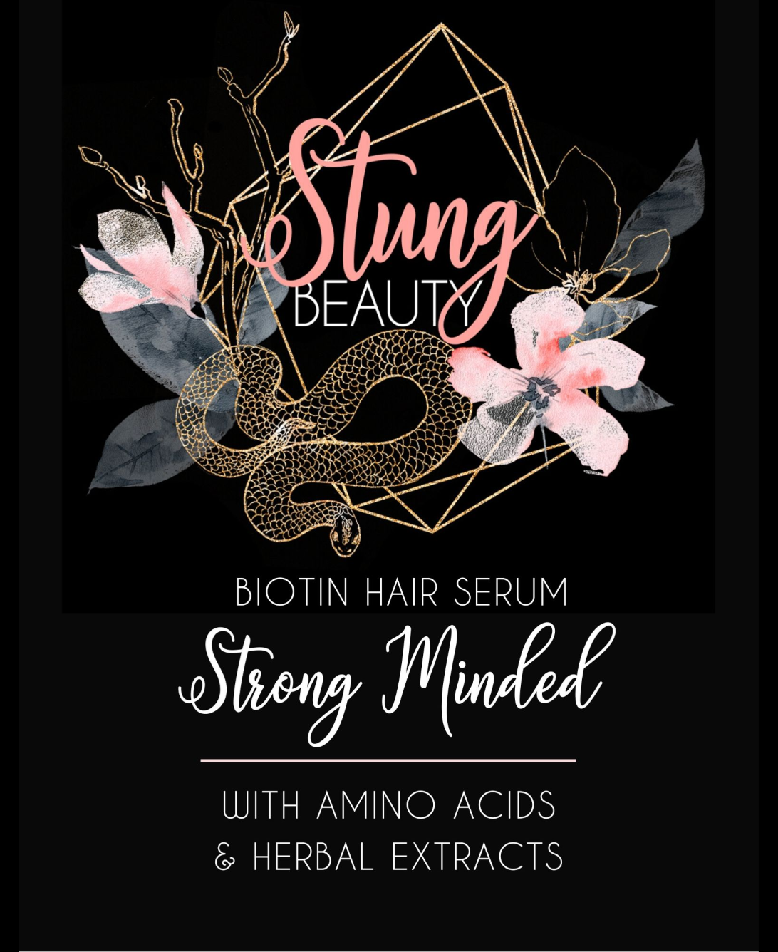 Strong Minded Biotin Hair Serum