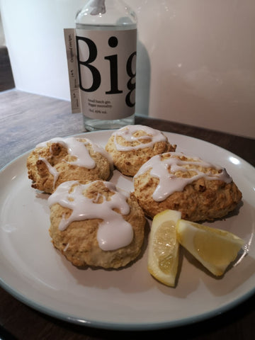 Biggar Gin & Lemon Scones