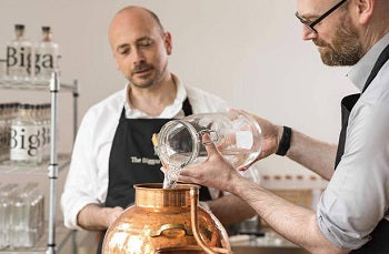 The McVicar Brothers - founders of The Biggar Gin Co