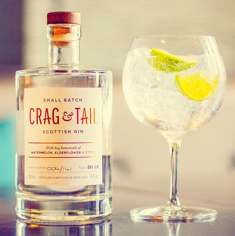 Crag & Tail Gin & Tonic Serve
