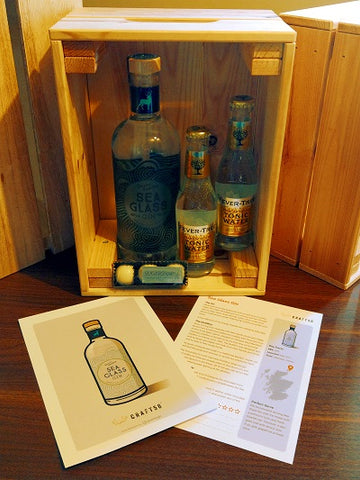 Sea Glass Gin Scottish Gin Club Box