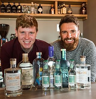 Huffmans Team behind Crag & Tail Gin
