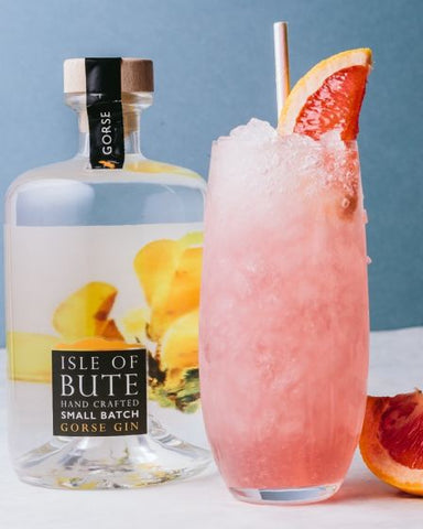 Isle of Bute Gin Gorse Collins Cocktail