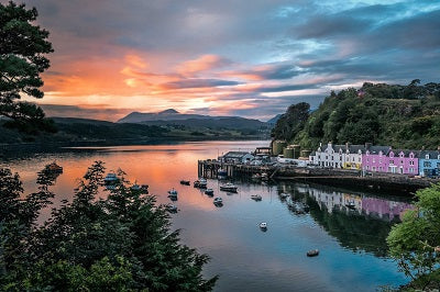Portree Bay and Harbour