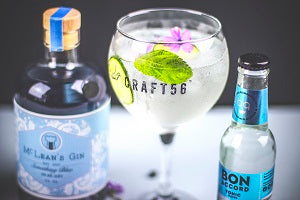 McLean's Something Blue Gin Perfect Serve
