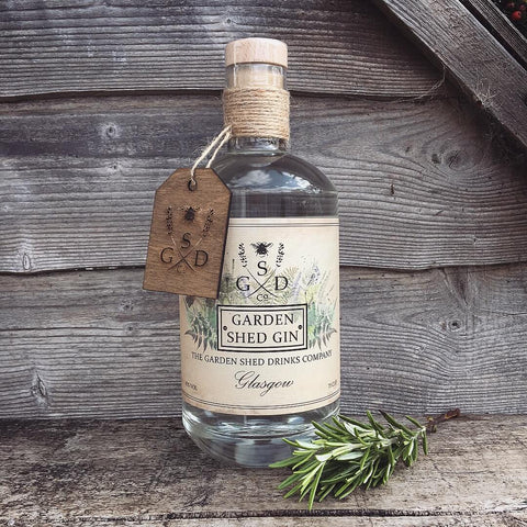 The Garden Shed Gin Co Bottle