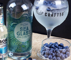Deerness Distillery Sea Glass Gin Serve
