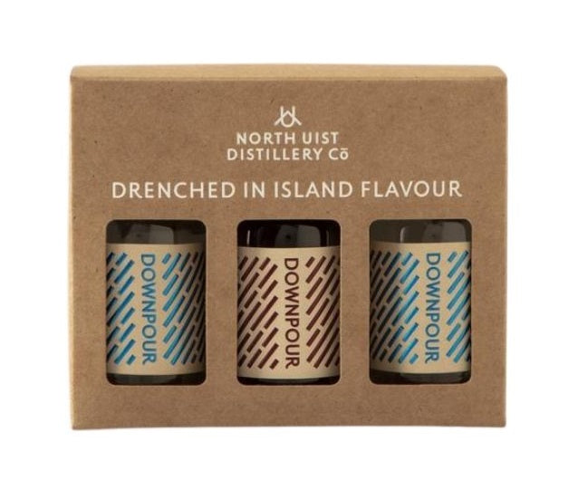 North Uist Distillery Downpour Gin & Sloe Gift Set
