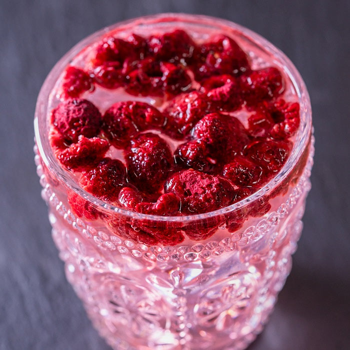 Fruits For Drinks Raspberry Serve