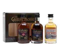 GlenAllachie Miniature Whisky Gift Set