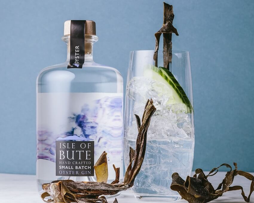 Isle of Bute - Oyster Gin perfect serve