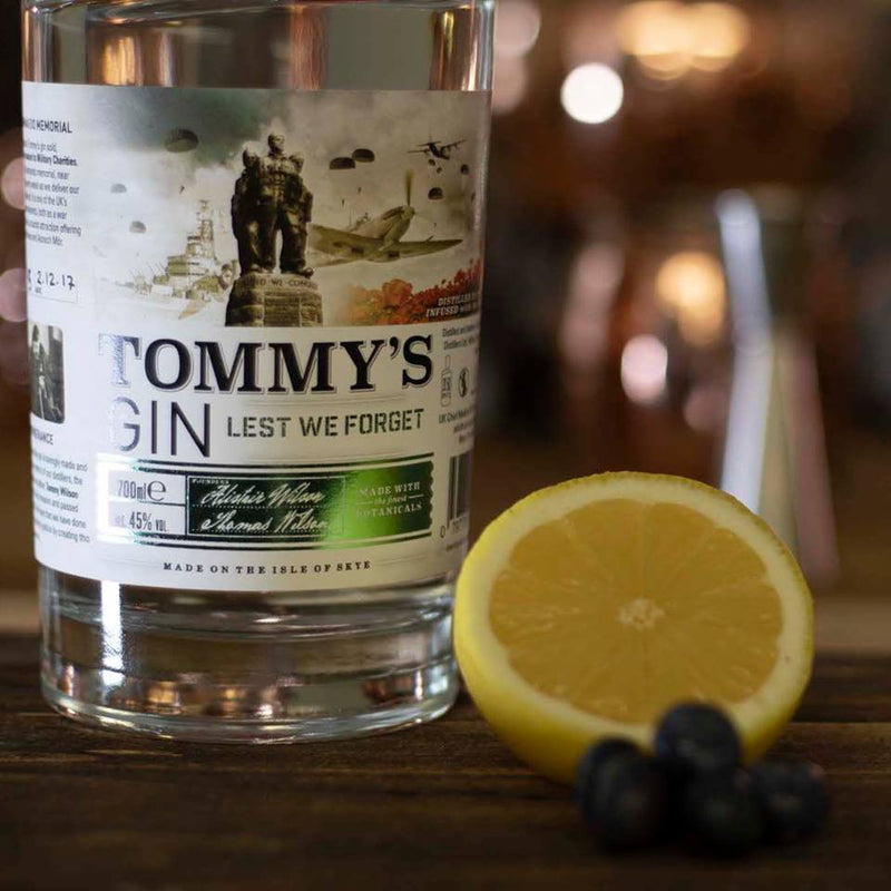 Isle of Skye Tommy's Gin Garnishes