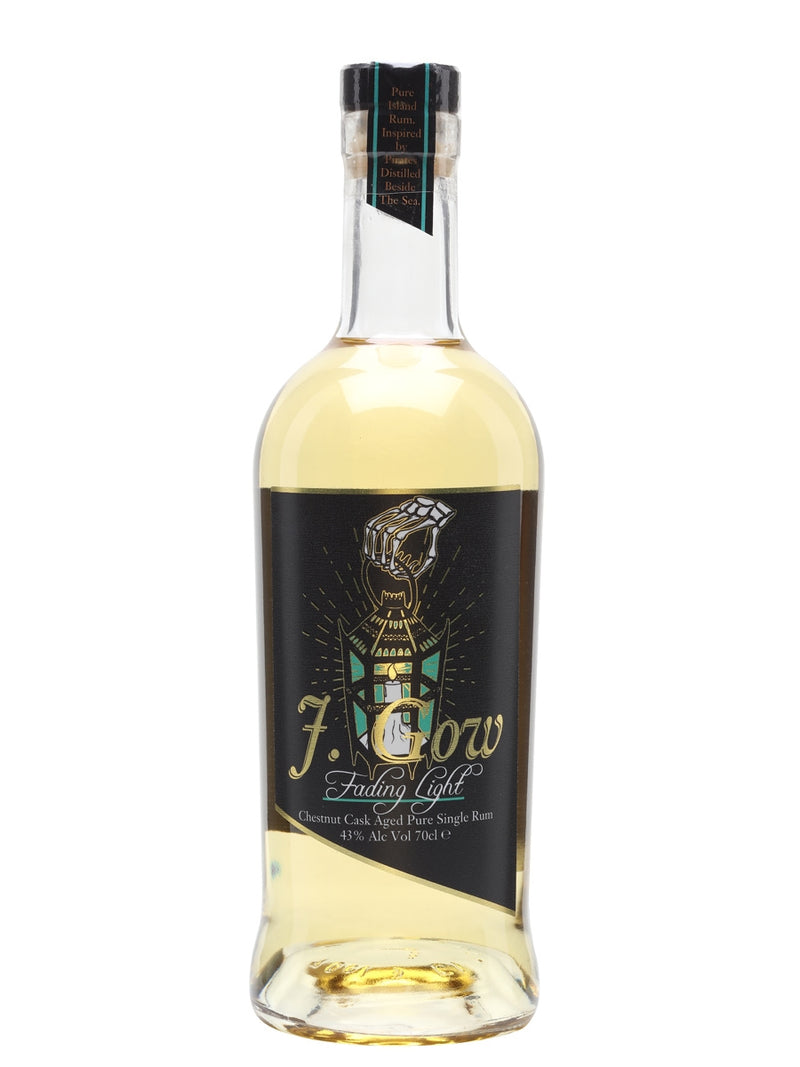 J. Gow Fading Light Chestnut Finish Rum