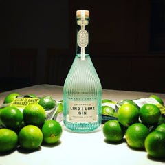 Lind & Lime Gin with Lime
